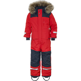 DIDRIKSONS Björnen Coverall Kids chili red